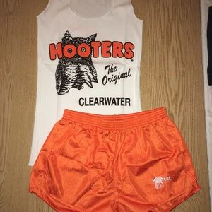 Hooters Other - Hooters Girl original uniform shorts/tank small